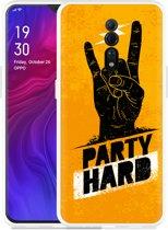 Oppo Reno Z Hoesje Party Hard 2.0