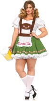 Beierse Oktoberfest kostuum voor vrouwen Plus-Size   Leg Avenue   maat  XXL ( 46 - 50 )