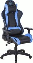 Qware Gaming Taurus Carbon Pro - Gamestoel - Blauw