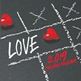 Love 2019 Mini Wall Calendar