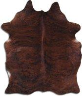 KOEIENHUID EUROSKINS Exotisch Bruin-Zwart