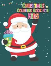 Christmas coloring book for kids: 50 Christmas coloring book for kids, children, toddlers, crayons, girls and Boys