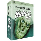 The Complete Fritz Lang Mabuse Box Set [DVD] [1922]