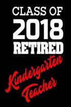 Class of 2018 Retired Kindergarten Teacher