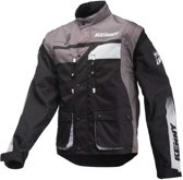 Kenny Track Enduro Jacket Black/Grey-M