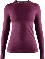 Craft Fuseknit Comfort Zip Thermoshirt Dames - Tune