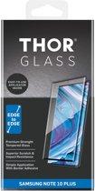 THOR Full Screenprotector + Apply Frame voor de Samsung Galaxy Note 10 Plus - Zwart