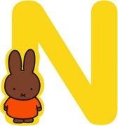 "Nijntje houten letter ""N"""