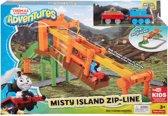 Thomas de Trein Adventures Misty Eiland Kabelbaanset - Treinbaan