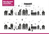 Raamsticker Kerst | Kerst Sticker | Sinterklaas Raamsticker | Herbruikbaar Statisch