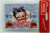 Koelkast Magneet Coca Cola - Betty Boop - blauw