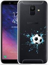 Galaxy A6 2018 hoesje Soccer Ball