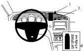 Brodit center mount v. Saab 9-5 2011-