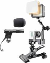 Caseless Mount Set voor Gopro