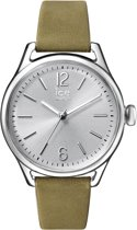 ice Watch Time IW013070 - Horloge - Leer - Groen - 32 mm