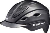KED Xilon L black matt helm met hoofdomtrek: 56-61 cm