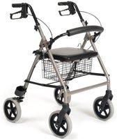 Vermeiren rollator Eco light Hard zitje - rugsteun - stokhouder - Gewicht 6,6 kg