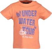 Blue Seven Jongens t-shirt - Oranje - Maat 68