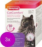 Beaphar Catcomfort Starterskit Compleet - Anti stressmiddel - 3 x 48 ml Incl Diffuser