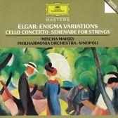 Elgar: Enigma, Cello Concerto, Serenade / Maisky, Sinopoli