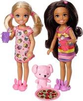 Barbie Club Chelsea Tienerpoppen 14 Cm 6-delig