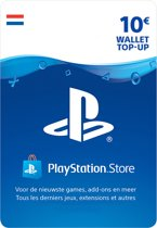 10 euro PlayStation Store tegoed - PSN Playstation Network Kaart (NL)