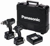 Panasonic EYC225LJ2G Comboset Accuklopboor EY79A2 en Slagschroefmachine EY75A7 koolborstelloos 18 Volt 5.0 Ah Li-ion in systainer - EYC225LJ2G