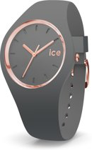 Ice-Watch IW015336 Horloge - Siliconen - Grijs - 40 mm