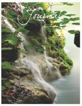 Waterfall Journal - Oversized 8.5x11, 150 Page Lined Blank Journal Notebook
