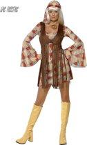 1960S Groovy Baby jurkje - Jaren 70 kostuum voor dames maat 44-46