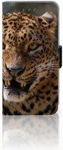 Samsung Galaxy J3 Leuk Hoesje Luipaard