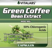 Green Coffee Bean Extract - Afslank Capsules -  60 capsules - Vegatarisch