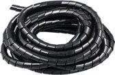 Kabelgoot spiraalslang - kabel geleider - 7,5 meter - diameter 6 mm - kabelslang