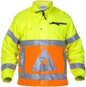 Hydrowear Veiligheidsjas Fluor Oranje/fluor Geel Mt L