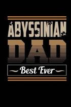 Abyssinian Dad Best Ever