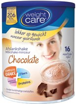 Weight Care Maaltijdshake Chocolade - 436 gram