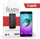 2-pack BMAX Glazen Screenprotector Samsung Galaxy A3 - 2016