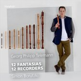 Telemann; 12 Fantasias - 12 Recorde