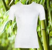 Boru Bamboo T-shirt ronde hals - wit - 3-pack - XL
