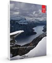 Adobe Photoshop Lightroom 6.0 - Nederlands/ Windows/ Mac
