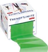 Trendy Sport - Limite - Thera-band - Theraband - Flexaband - Trainingsband - Aerobic band - Box met 25 meter - Groen = Medium weerstand - Latex Vrij