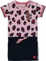 9c0a557b74fda0 Quapi Mini Jurkje Renise - Roze Luipaard - Maat 86