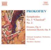 Prokofiev: Symphonies nos 1 & 2 / Kuchar, Ukrainian NSO