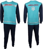 Fun2Wear Ambulance Pyjama Blauw maat 98
