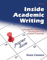 Inside Academic Writing