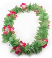 Hawaii krans roze bloem