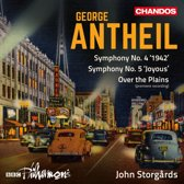 George Antheil: Symphony No. 4 ''1942''; Symphony No. 5 ''Joyous''; Over the Plains
