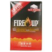 Fire-Up aanmaakblokjes wit pak a 28st.