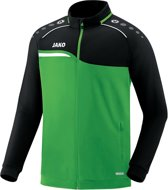 Jako Competition 2.0 Polyesterjack - Sweaters  - groen - 164