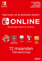 12 maanden Online Lidmaatschap - Nintendo Switch